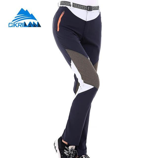 Pantalones deportivos para mujer, pantalón Anti uv, de secado rápido, para acampar, escalada y senderismo, transpirables, ligeros, para pesca y Trekking