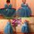 Nova Meninas Cinderella Princess Dress Filme Cosplay Fantasia de Fada Fantasia Arcos Partido Performances Vestidos crianças