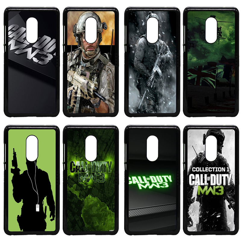 Call Of Duty Mw3 Cell Phone Case Hard Plastic Cover Protect for Xiaomi Redmi 3X Mi 6 5 5S Plus Note 4X 2 3 3S 4 Pro Prime Shell