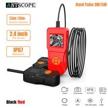 Antscope 1080P HD Mini Camera 2.4 inch Industrial Car Endoscope Hard Tube Handheld Inspection Camera for Auto Repair Tool 24 палантин keddo keddo ke037gwgemm2