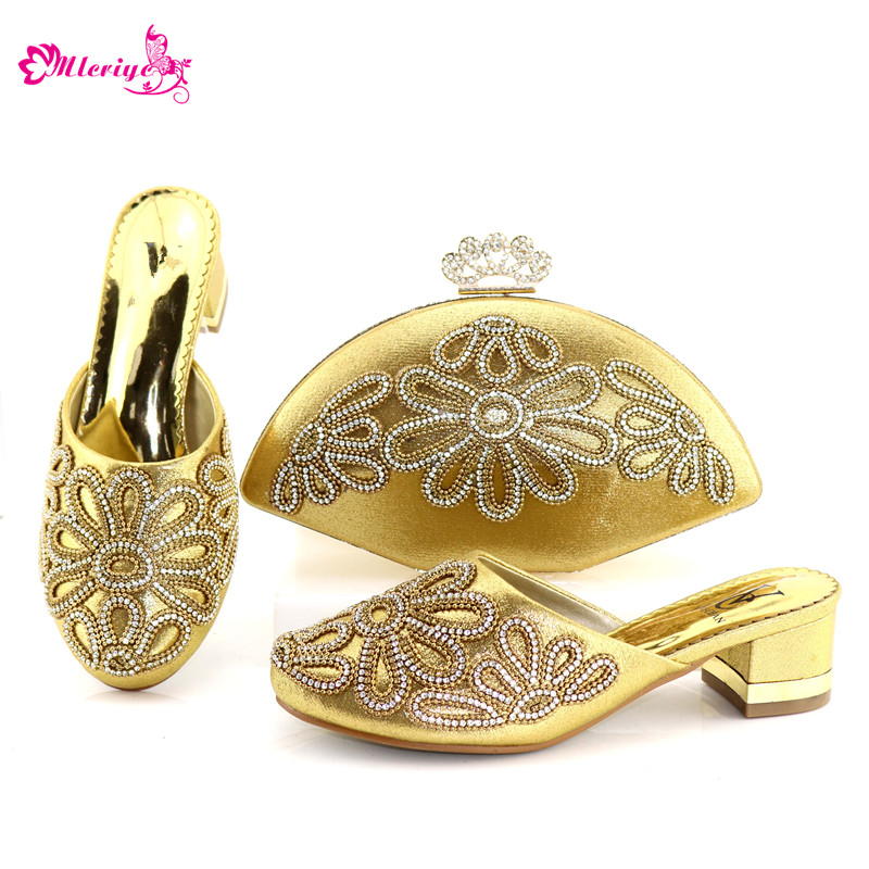 1132-1 Italian Shoes with Matching Bag for Women Woman Italian Shoes and Bags Set High Quality African Wedding Shoes and Bag high qulity african woman high heel shoes and bags set hot selling italian pumps shoes and bag set for wedding mm1035