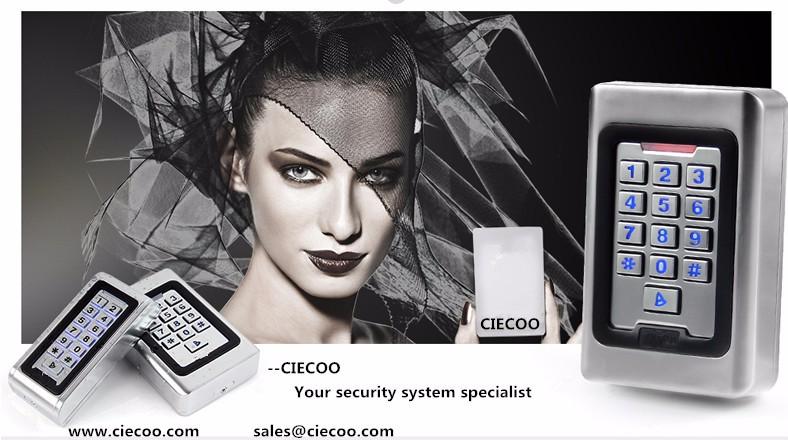 Ciecoo Metal Keypad Reader