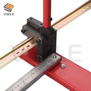 Image 3 - Din schiene cutter, R310BEK din schiene schneiden werkzeug, einfach cut mit messen lehre cut mit lineal