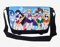 2016 Bolso de La Historieta Bolsa de Mensajero Bolsa de Lona Del Hombro Sling Pack de Sailor Moon Bolsas Escuela 43*27*11 CM