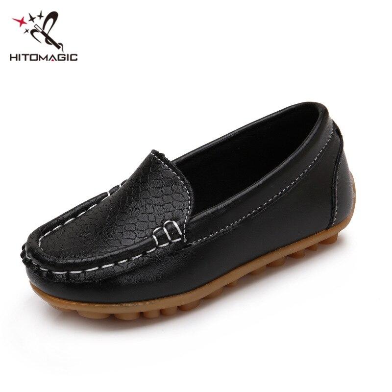 good hitomagic chaussures pour garons chaussures fille casual pois simples enfants  chaussures enfants bb garon de filles en cuir souple respirant nonslip ... 0e838399ce47