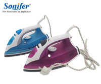 2200W Portable Electric Steam Iron For Clothes Three Gears Ceramic Soleplate Sonifer