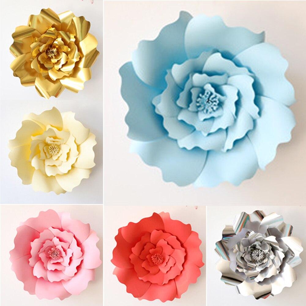 стихи бумажные цветы оттенки голубого