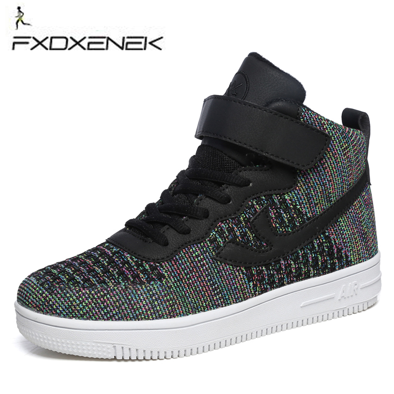FXDXENEK New Athletic air Skateboarding shoes forceing Breathable for men women sneakers Breathable basket sport tennis walking