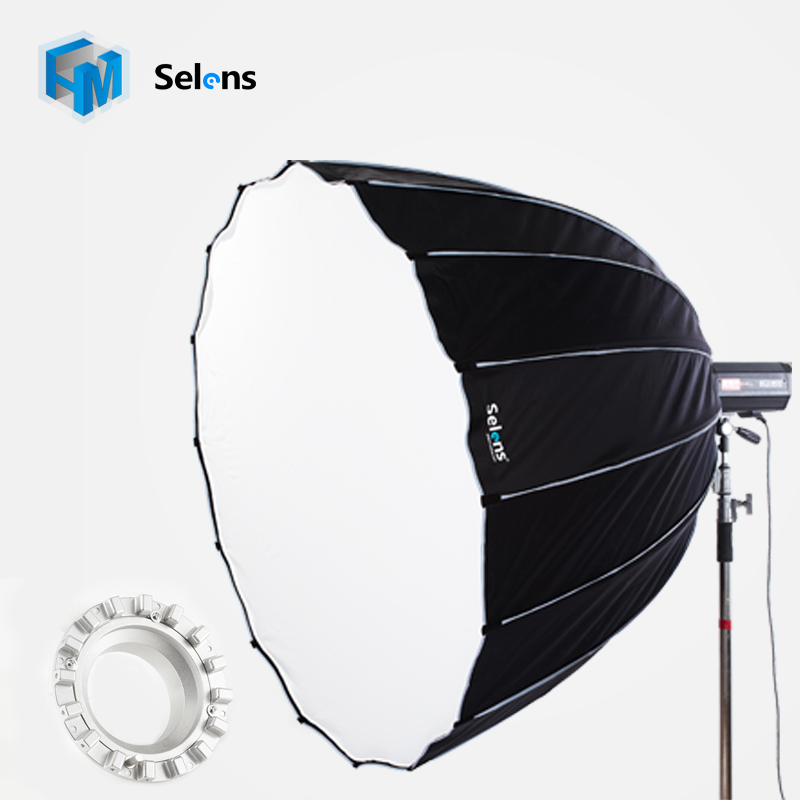Selens 150cm Huge Diffuser Hexadecagon Softbox Bowens Balcar Elinchrom Hensel Profoto Speedring Professional Lighting Modifier