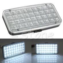 Lampe de voiture blanche | Plafonnier de toit en forme de dôme de camion de véhicule de voiture 12V 36