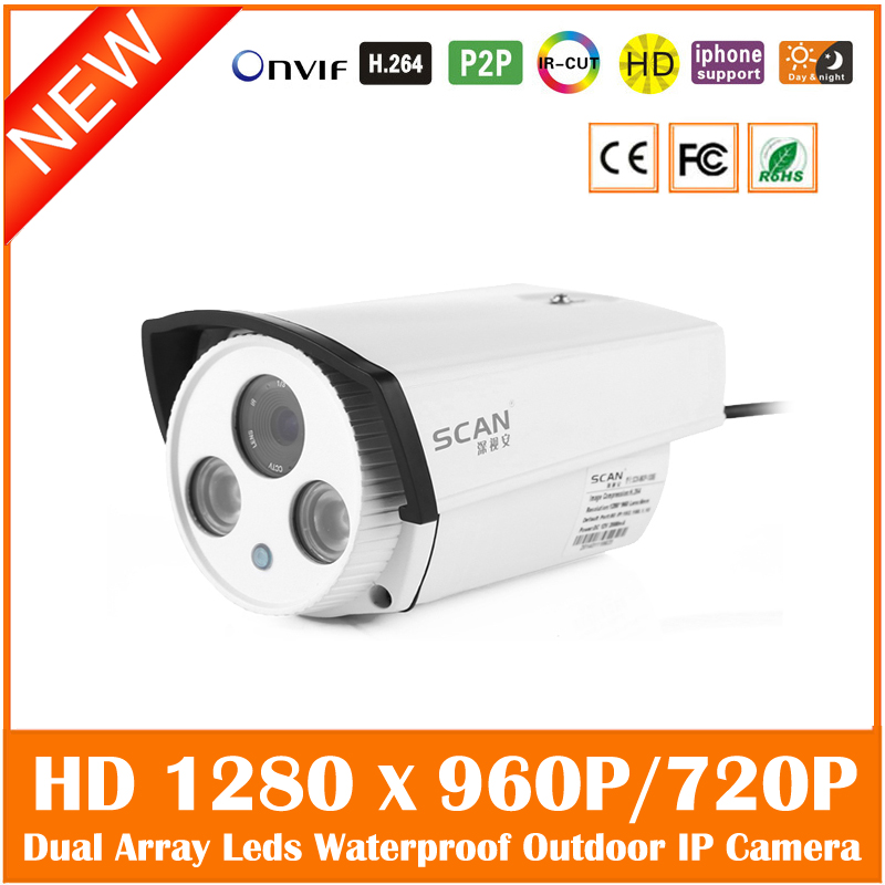 Hd 960p720p Bullet Ip Camera Night Vision Outdoor Waterproof Motion Detect Security Surveillance Cmos Webcam Freeshipping экшен камера bullet hd