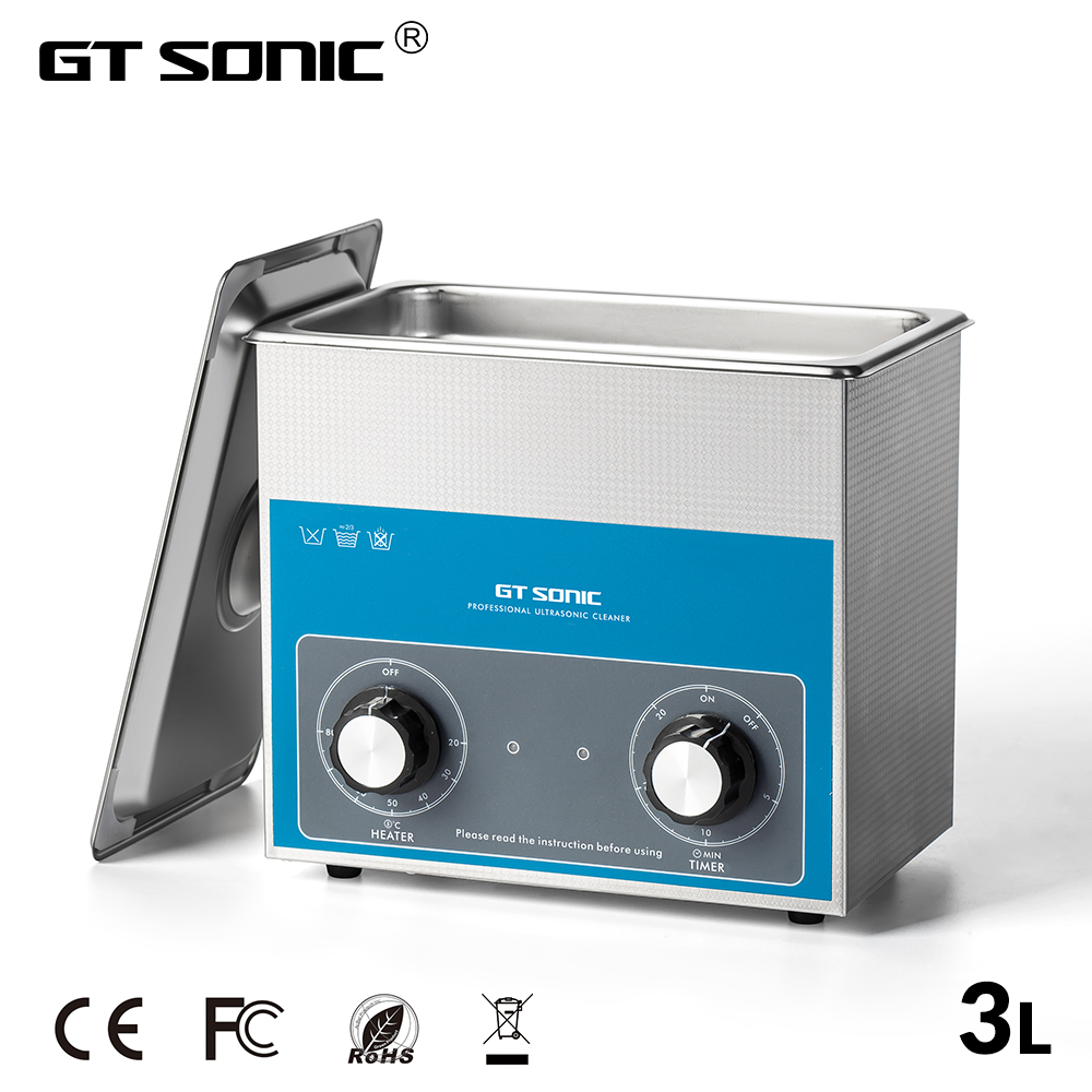 GTSONIC Adjustable Ultrasonic Cleaner Bath For Jewelry Ring And Watches Glasses 33