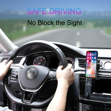 Oppselve Car Phone Holder For iPhone X 8 Adjustable Air Vent Mount Car Holder 360 Degree Rotation Support Mobile Car Phone Stand