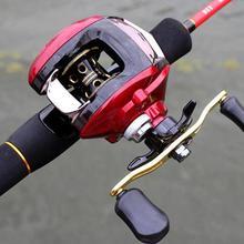 Water Drop Magnetic Brake Full Metal Fishing Reel High Speed Lure Fishing Wheel 8 1 1 speed metal cup water drop fishing wheel fishing gear fishing reel