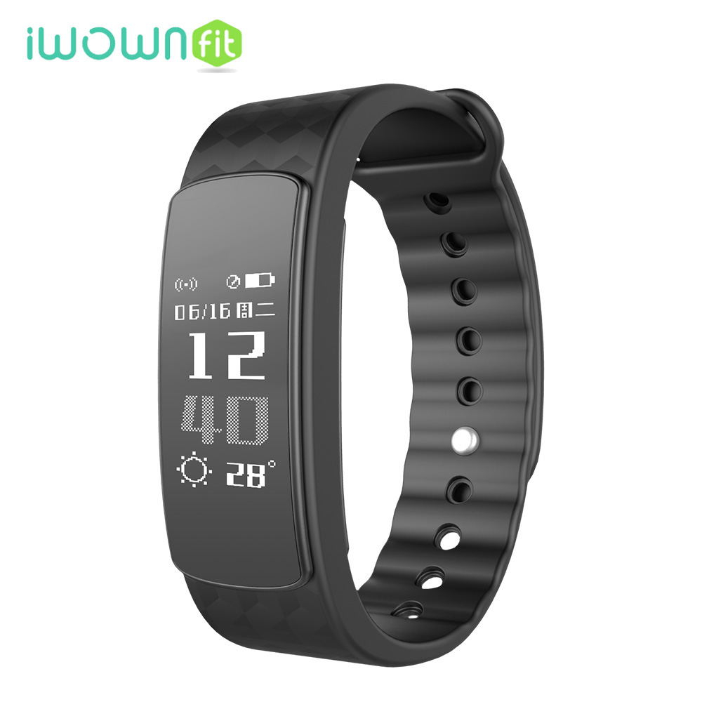 iWOWNfit i3 Smart Wristband Pedometer Sleep Monitoring Remote Control Camera Activity Fitness Tracker