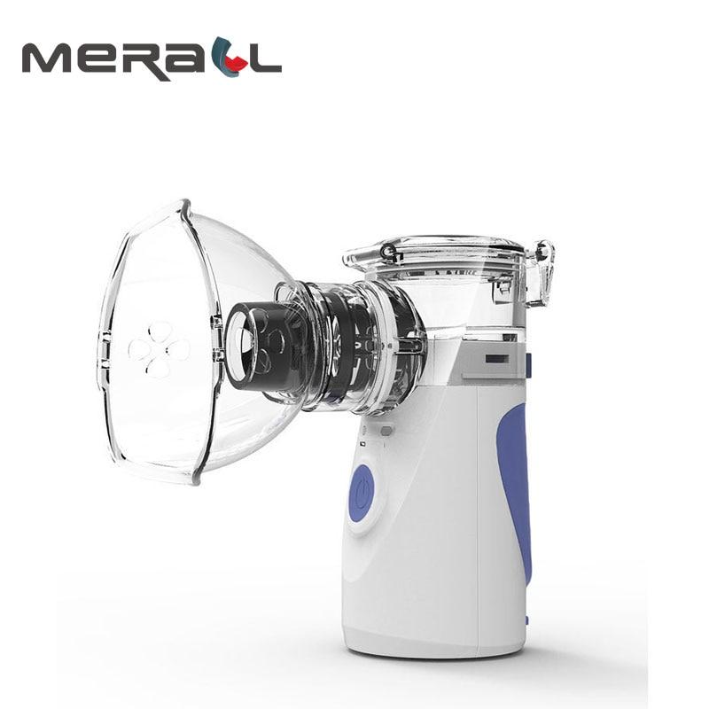 Mini nébuliseur portatif tenu dans la main d'inhalation nébuliseur portatif ultrasonique silencieux de nébuliseur d'enfants adulte badine le vapeur Facial