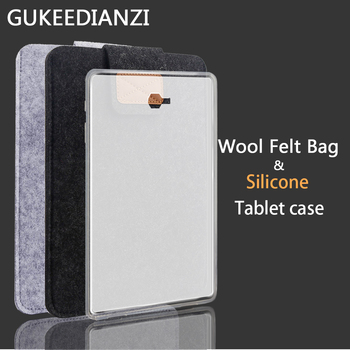 Silicone Tablet Case For Samsung Galaxy Tab A A2 A6 9.7 10.1 10.5/Note 8.0 10.1 Edition GT P600 SM T580 T590 T550 Soft TPU Cover image