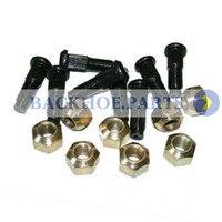 8 PCS Lug Mutter & Stud Kit 6709170 6564669 für Bobcat Kompakt Lader S100 S150 S160 S175 S185 S205 s220 S250 S300