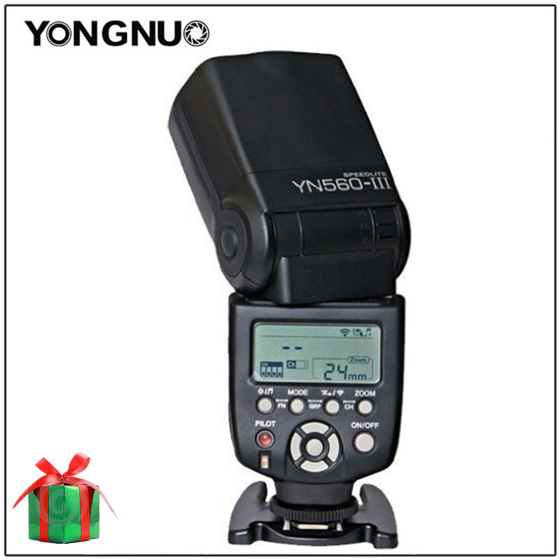 Yongnuo YN560 III YN-560 III YN560III Universal Wireless Slave Flash Speedlite For Canon Nikon Pentax Panasonic Olympus new original vb 16yr plc 24vdc 16 point input expansion module