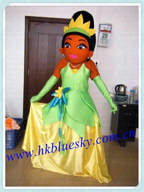 new popular princess dress tiana mascot tiana princess dress mascot costume & new popular princess dress tiana mascot tiana princess dress mascot ...