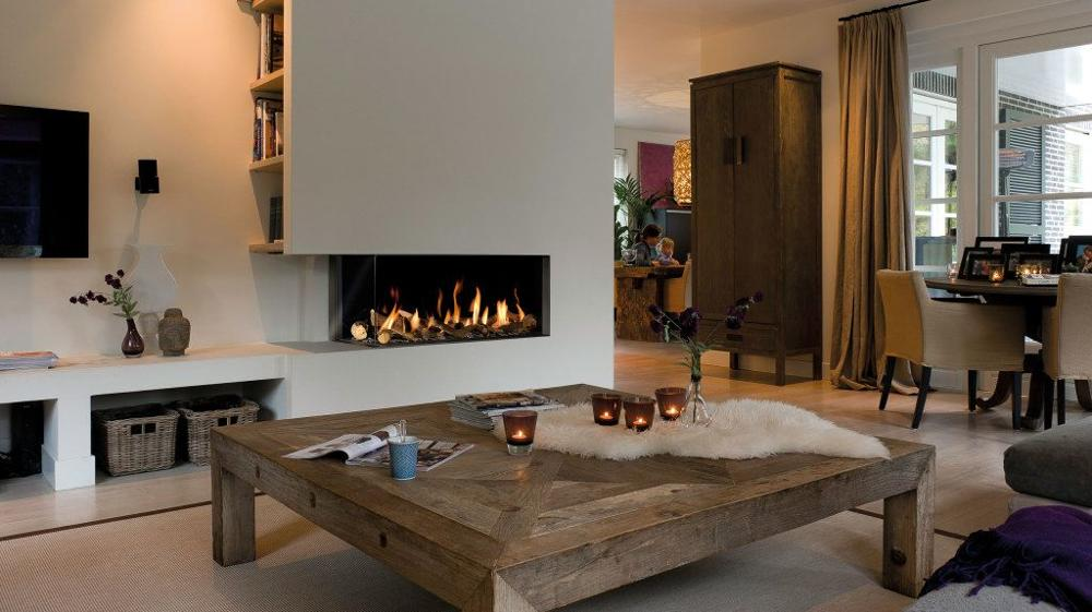 30 Inch Real Fire Indoor Intelligent Smart Biofuel Burner Fireplace