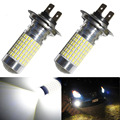 2 Pieces 100W H7 LED Bulb 144 SMD Car Fog Light DC 12V~24V 360 Degree White interior light Sourcing Parking Lampochka Bombillas