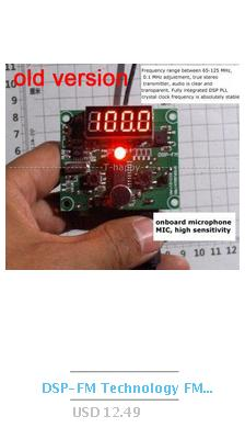 AD8307 RF Power Detector Module Logarithmic Amplifier DC to