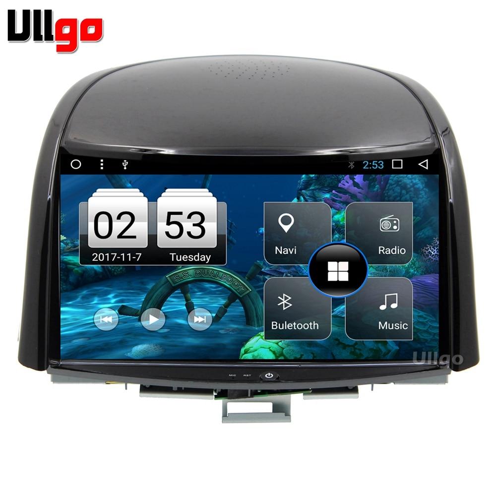 9 pouce Octa base Android 7.1 Voiture DVD GPS pour Renault Koleos 2009-2014 Autoradio GPS Unité De Tête de Voiture avec BT RDS WIFI Miroir-Lien