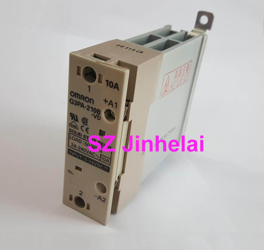 Authentic original G3PA 210B VD OMRON Guide rail type solid state relay 10A 5 24VDC DC5