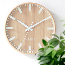 Pastoral Household Wood Wall Clock