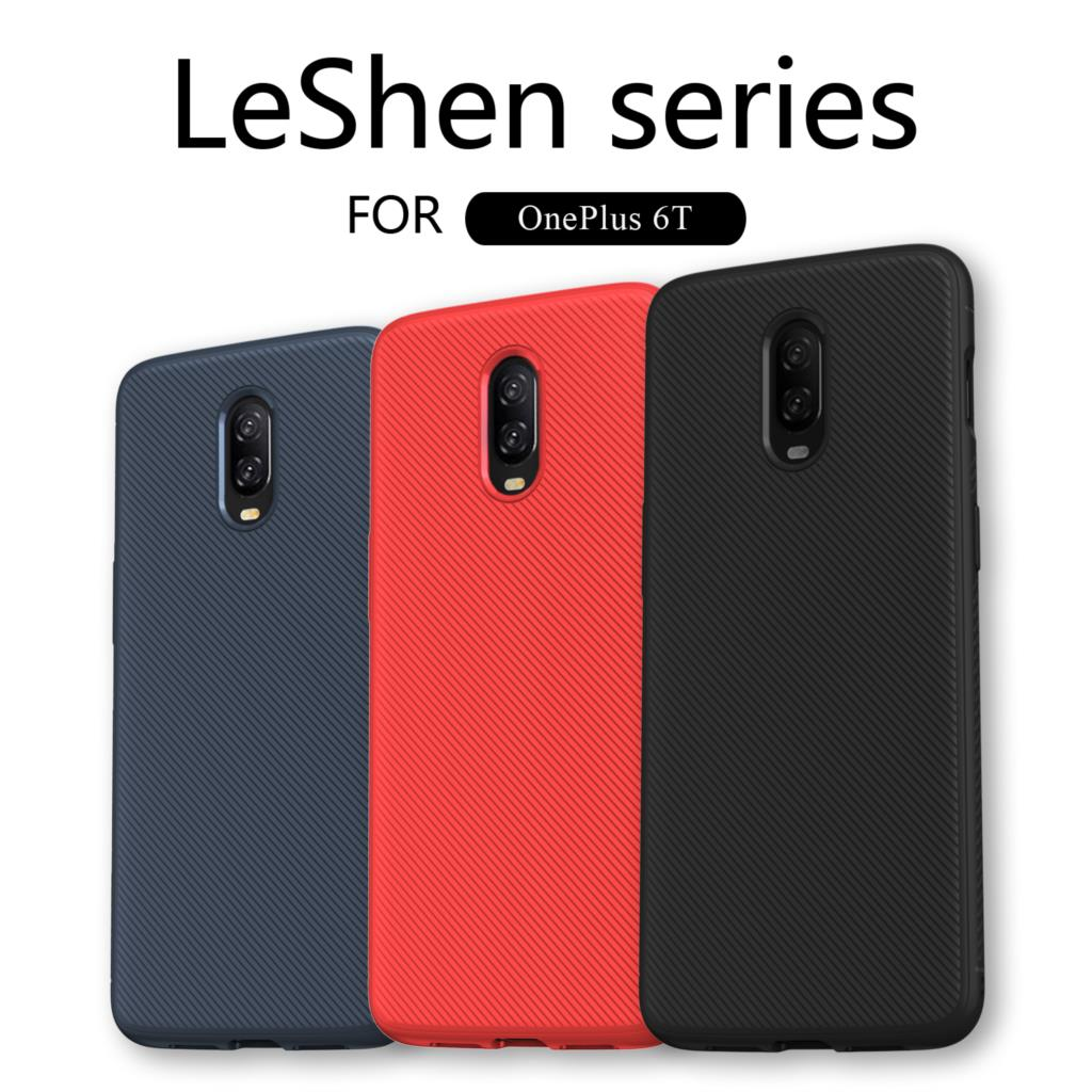 Lenuo For Oneplus 6T 1+6T Phone Case Shockproof Soft TPU