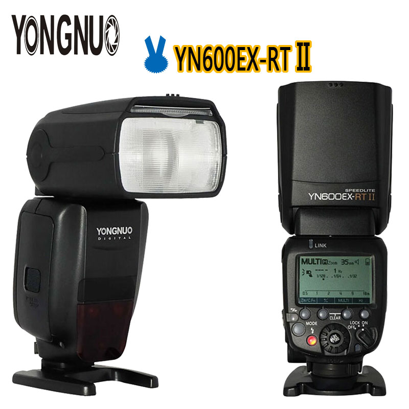 Yongnuo Flash YN600ex-rt Wireless HSS 1//8000s Master Flash Speedlite for Cannon Camera