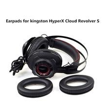 High Quality Foam Ear Pads Cushions for Kingston HyperX Cloud Revolver S Headphones Earpad 10.15 kingston hyperx cloud revolver black игровая гарнитура