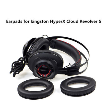 High Quality Foam Ear Pads Cushions for Kingston HyperX Cloud Revolver S Headphones Earpad 10.15 soft foam ear pads cushions for sennheiser urbanite xl headphones high quality protein skin 11 2