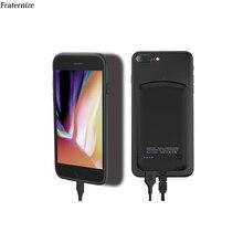 Мини чехол для аккумулятора Samsung S5 S6 S7 Edge S10 S8 S9 Plus Note 9 8 A3 A5 A6 A7 J2 J3 J5 J7 J4 J6 Plus