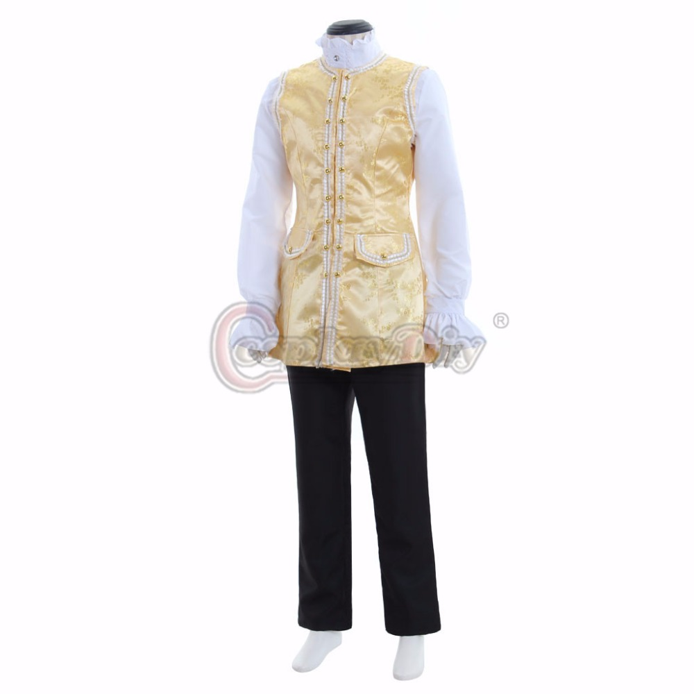 Cosplaydiy Adult 18th Century Mens Medieval Fancy Party Top Vest Shirt Pant Hat Prince Gentleman Victorian Costume L0516