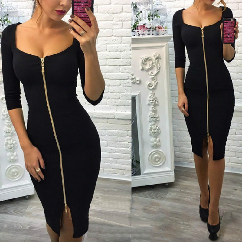 Arab winter bodycon dress outfits hold you