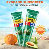 Avocado Essential Face Body Sunscreen Whitening Cream Sunblock Skin Protective Cream Oil-control Moisturizing SPF Body Skin Care