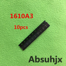 Absuhjx 10pcs 1610A3 U2 IC ชาร์จสำหรับ iPhone 6S & 6SPlus 6SP USB Charger IC 1610 1610A ชิป U4500 36Pin On Board Ball อะไหล่
