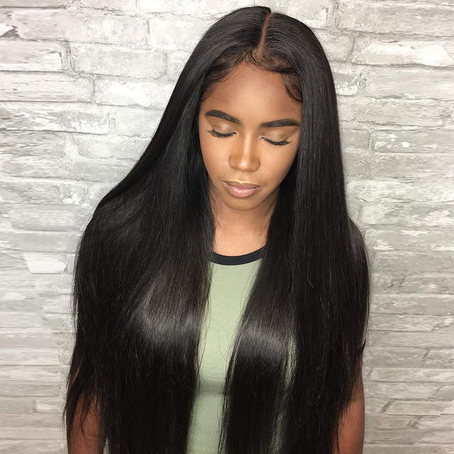 Luvin Brazilian Virgin Hair Bundles Straight Human Hair Weave 1PC Hair Extensions 8-28inch Natrual Color Free Shipping