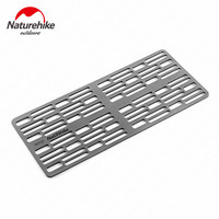 Naturehike Outdoor BBQ Plate Titanium Alloy Barbecue Dish Portable Picnic Barbecue Grill Lightweight High Strength