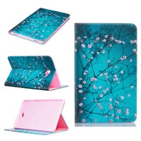 Stylus Film High Quality Fashion Painting Book Smart Case Cover For Samsung Galaxy Tab A 10