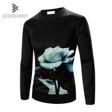 Plus Size M 5XL Top Quality Women Men 3D Sweatshirt Print Flower Lotus Long Sleeve Shirts