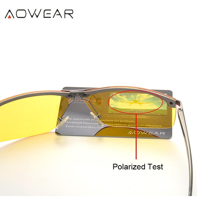 Мужские очки ночного видения Очки HD - Аксессуары для одежды - Фотография 3