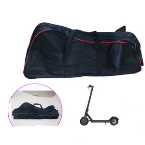 Image 5 - Large Foldable Scooter Carry Bag for Xiaomi M365 Foldable Electric Scooter Transport Roller Bag with Wheels Scooter Bag