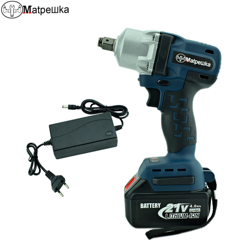 Brushless Impact Wrench 21V Cordless Lithium Battery Electric Wrench Rechargeable Electric Drill Variable Speed Power Tools tenwa20v brushless electric impact wrench cordless rechargeable lithium battery socket impact digital electric wrench