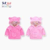 HHTU Baby Coat Warm Clothes Boys Girls Spring Winter Padded Cotton Newborn Jacket Children S Thickening