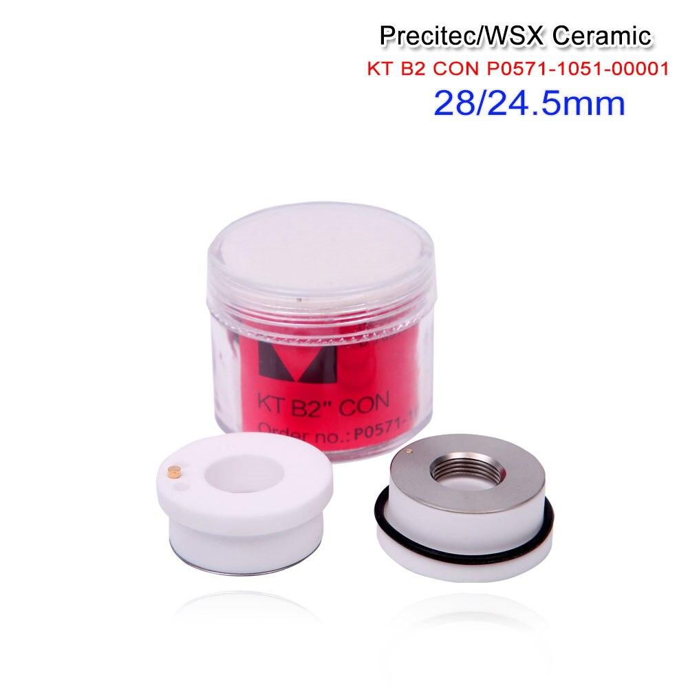 Good 5pcs lot Precitec Ceramic Parts Nozzle Holder china made P0571 1051 00001 For Precitec Laser