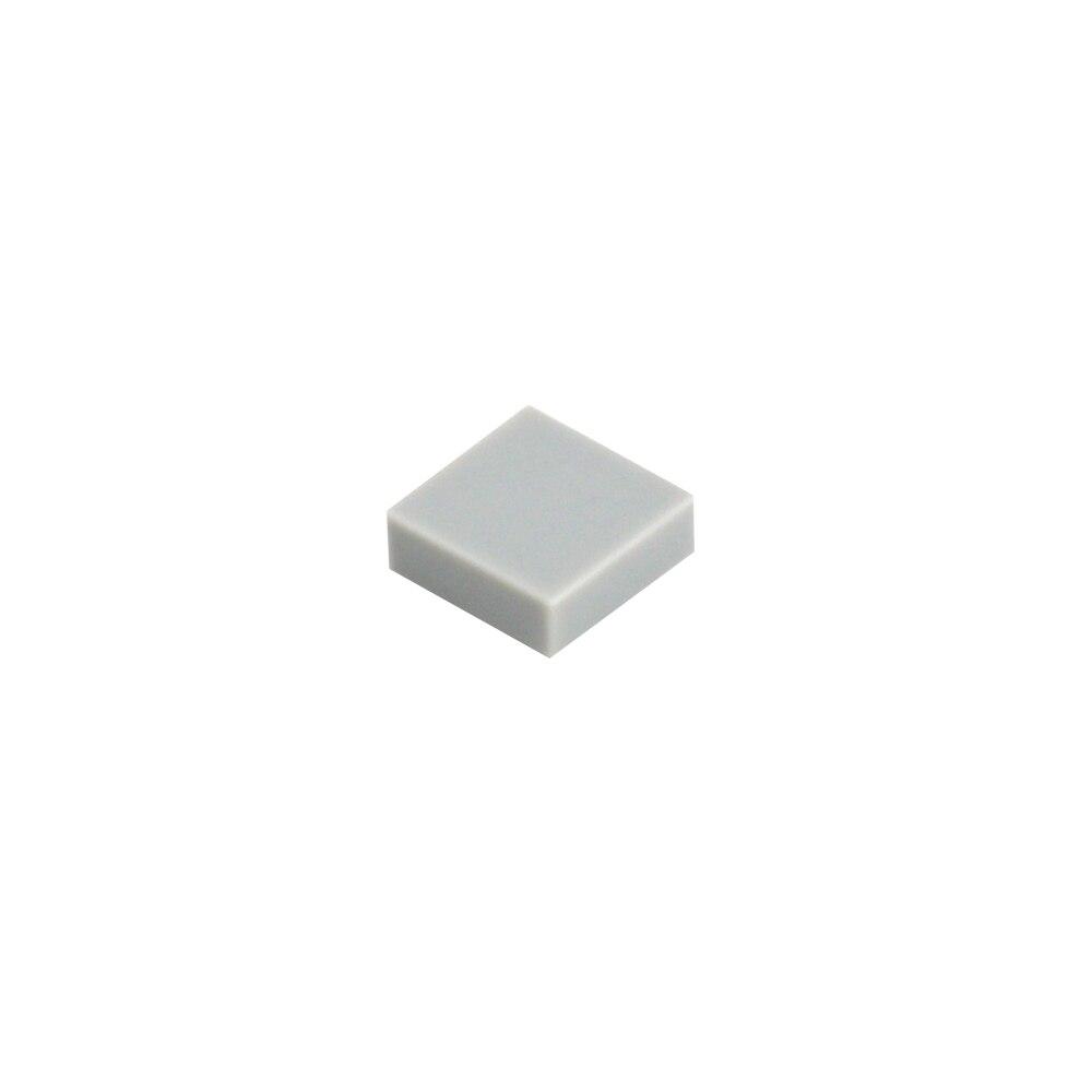 Image 5 - 2000 個フラットタイル 1 × 1 と溝 diy ビルディングブロック qr コードアクセサリーおもちゃスムーズ moc 車仕上げタイルレンガ部品 3070ブロック   -