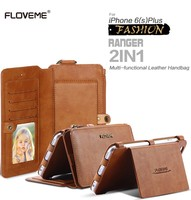 FLOVEME For IPhone 5 5S SE Phone Case Cover Leather Holster For IPhone 6 6s 7